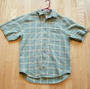 The Territory Ahead Vintage Green XL Button Down